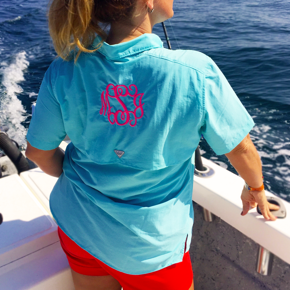 be41b5bcb5 Monogrammed Fishing Shirt | Embellished Accessories and Gifts ...