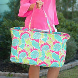 Embellish Oversized Playful Print Everything Tote | Personalized