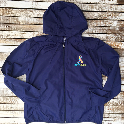 Metavivor Hooded Rain Jacket