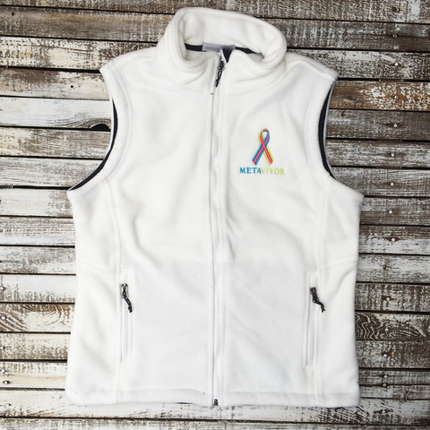 METAVIVOR LOGO Mid-Weight Fleece Vest in 10 Colors