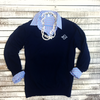 Embellish Classic Ladies V-Neck Sweater | Monogrammed