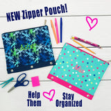 Embellish Oversized Zipper Pouch Collection | Personalized