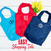 Embellish Easy Carry Shopper Tote  | Monogrammed