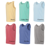 Embellish Pigment Dye Tank Top 16+ colors | Monogrammed