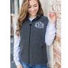Embellish Classic Ladies Mid-Weight Fleece Vest | Monogrammed | QUICK SHIP