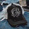 Embellish NEW Distressed Wash Trucker Ball Caps | Monogrammed