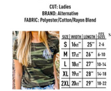 Embellish Ladies Fit Stylish Camo Tee | Monogrammed