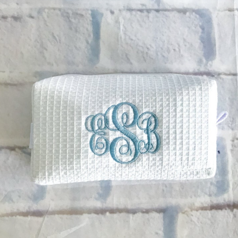 Embellish Small Spa Carry All Bag | Monogrammed | QUICK SHIP