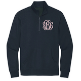 Embellish 1/4 Zip Sweatshirt with Cozy Front Pocket Pouch | Monogrammed