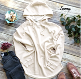 Embellish Soft Fleece Pullover Hooded Tunic | Monogrammed | promo code: LOVEADEAL