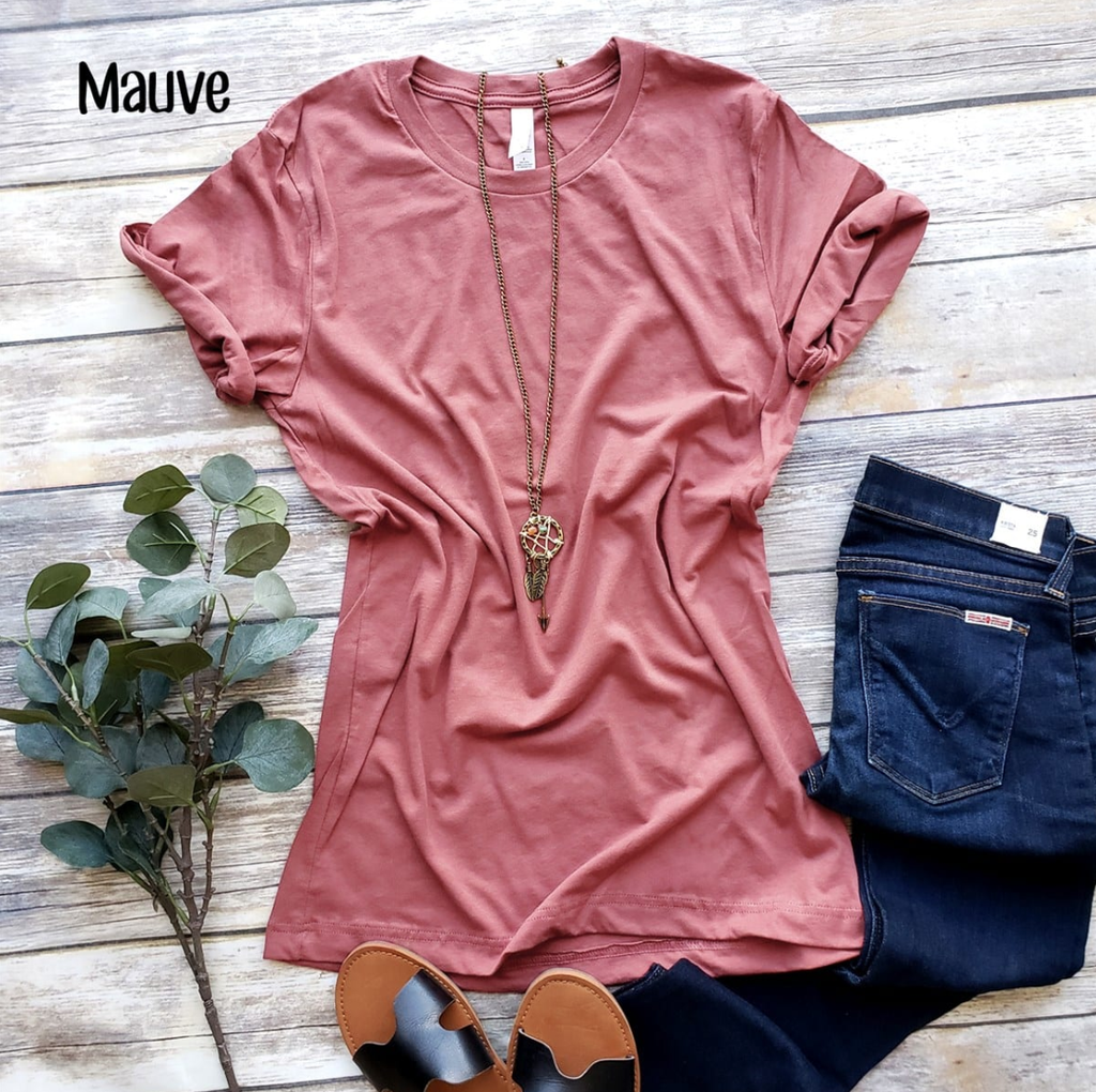 Embellish Long Length Soft Short Sleeve Tee | Monogrammed