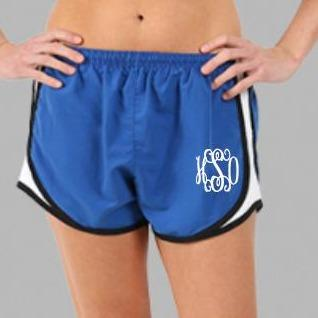 Embellish Classic Every Day Athletic Shorts | Monogrammed | QUICK SHIP