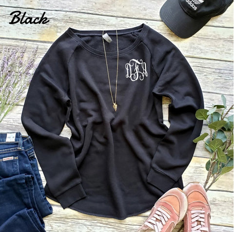 Embellish Soft Fleece Crew Pullover | Monogrammed