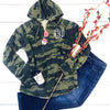 Embellish Soft Fleece Pullover Hooded Tunic Camo | Monogrammed | promo code: LOVEADEAL