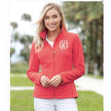Embellish Ladies Classic Full-Zip Mid-Weight Fleece Jacket | Monogrammed