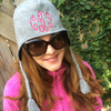 Personalized Monogrammed Tassel Knit Earflap Hat | QUICK SHIP