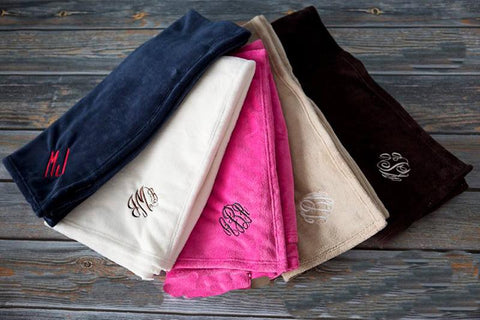 Embellish Cozy Cuddle Blanket | Monogrammed