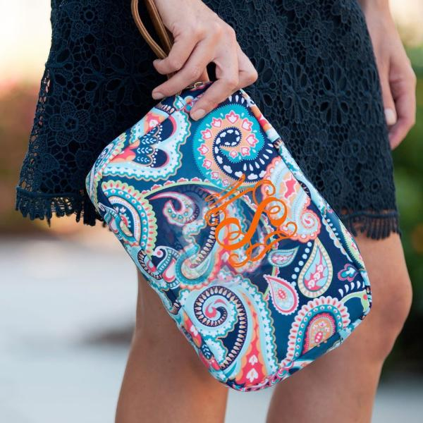 Embellish Playful Print Accessory Bags | Personalized
