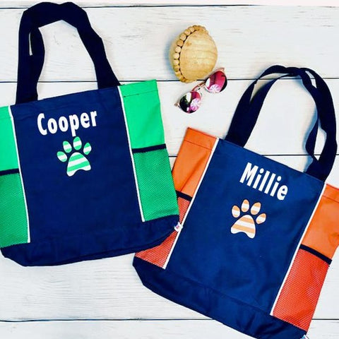 Embellish Personalized Pet Tote Bag