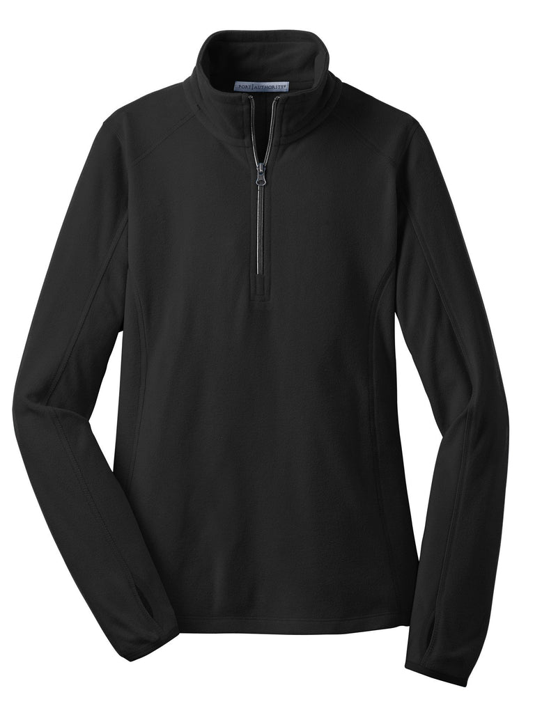 Monogrammed Fleece Pullover in Black