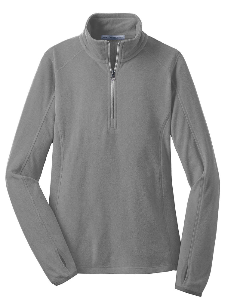 Monogrammed Fleece Pullover in Grey Gray
