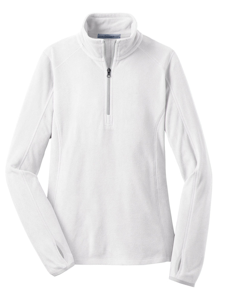 Monogram Fleece Pullover in White
