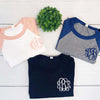 Embellish Everyday Tri-Blend Baseball Tee | Monogrammed