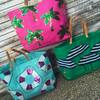 Embellish SEQUIN SUMMER DESIGN Jute Tote
