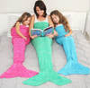 Embellish Custom Knit Mermaid Tail Blankets | Personalized