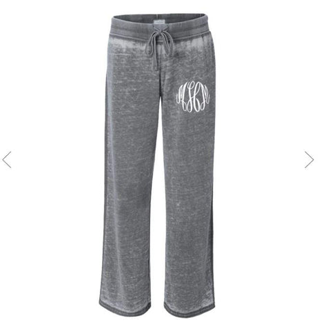 Embellish Ladies Zen Vintage Fleece Lounge Pants | Monogrammed