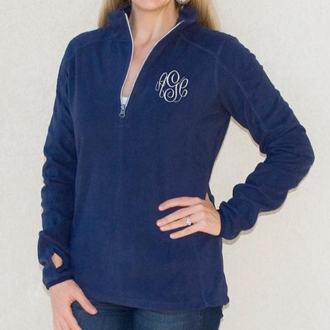 Embellish Ladies Micro Fleece Perfect Pullover Fleece| Monogrammed