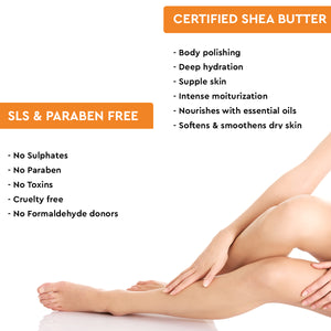 Almond & Honey Shea Body Butter 198g
