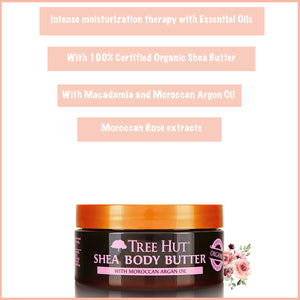 Moroccan Rose Shea Body Butter 198g