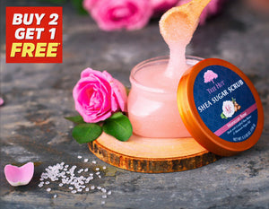 Moroccan Rose Shea Sugar Body Scrub 156g