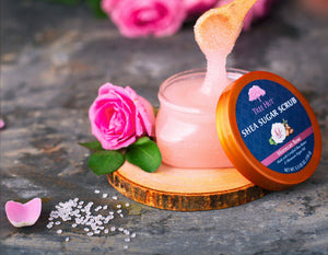 Moroccan Rose Shea Sugar Body Scrub 156g ( Pack of 2 )