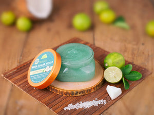 Coconut Lime Shea Sugar Body Scrub 156g ( Pack of 2 )