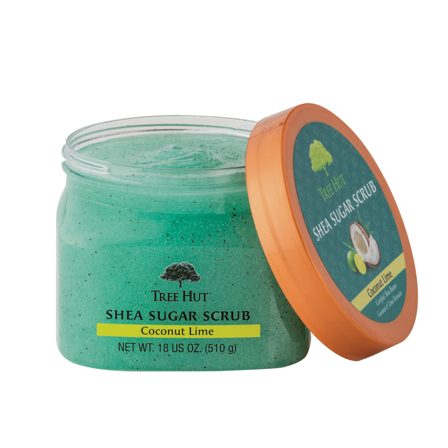 Shea Body Scrub Coconut Lime