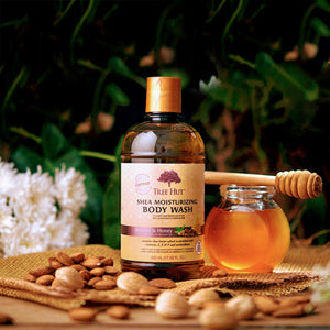 Almond & Honey Shea Body Wash 502g - Absolutely NO SLS and NO Parabens