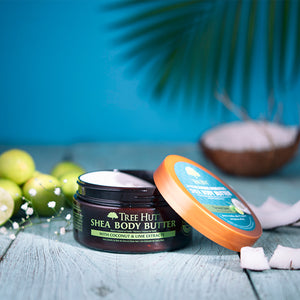Shea Body Butter Coconut Lime 198g