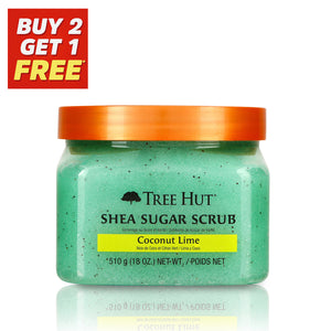 Coconut Lime Shea Sugar Body Scrub 510g