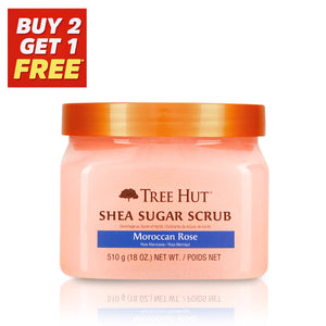 Moroccan Rose Shea Sugar Body Scrub 510g