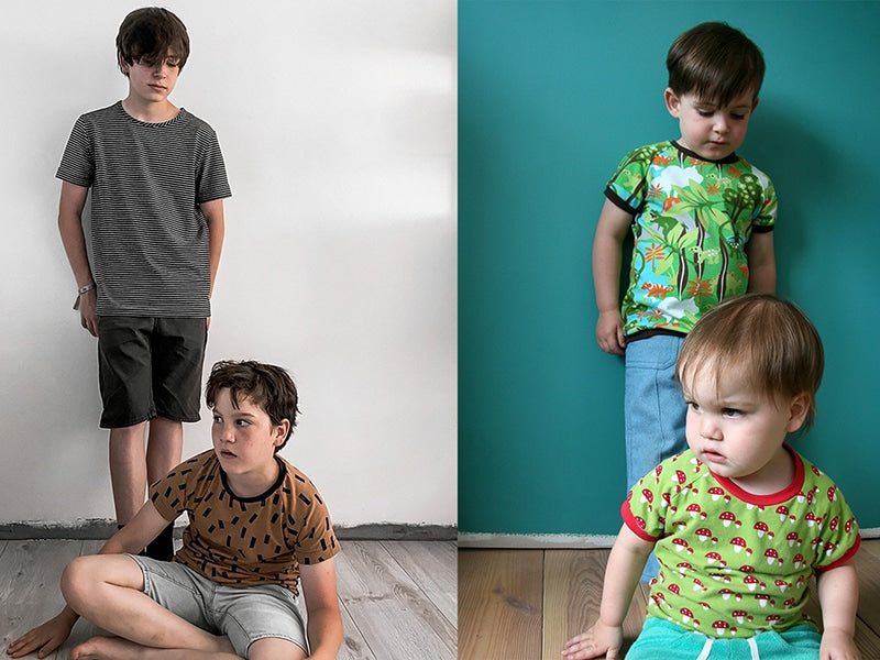 Nils and Thor wearing zonen 09's Billie shirt in a remake