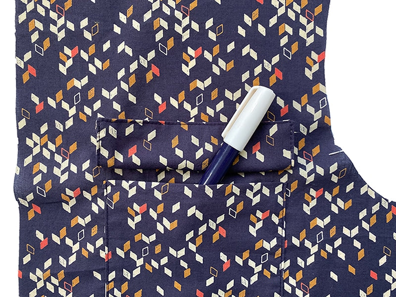 How to stitch pockets and pocket flaps on the Thea blouse