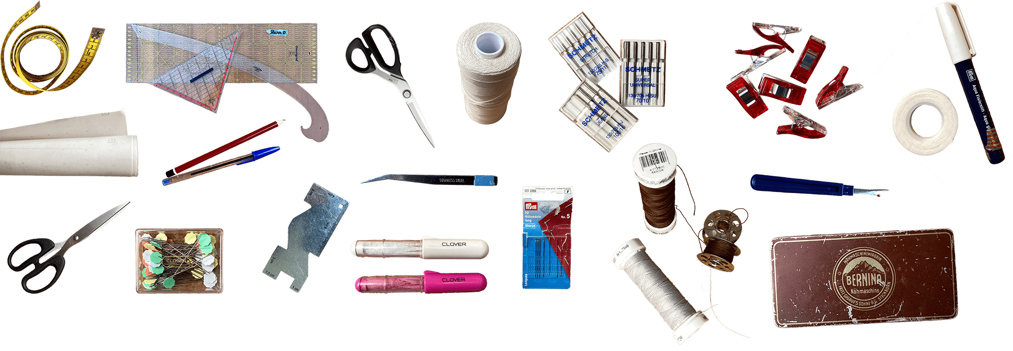 Tools you need to get started with sewing