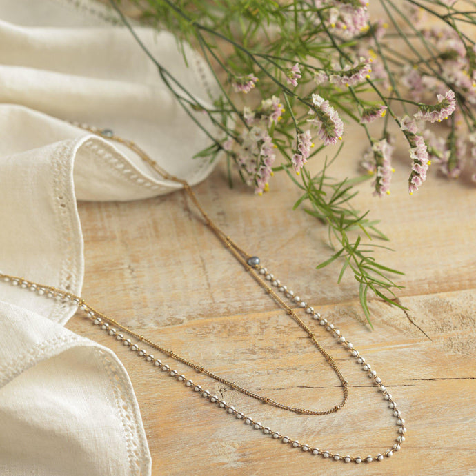 Anne necklace white - Tataborello