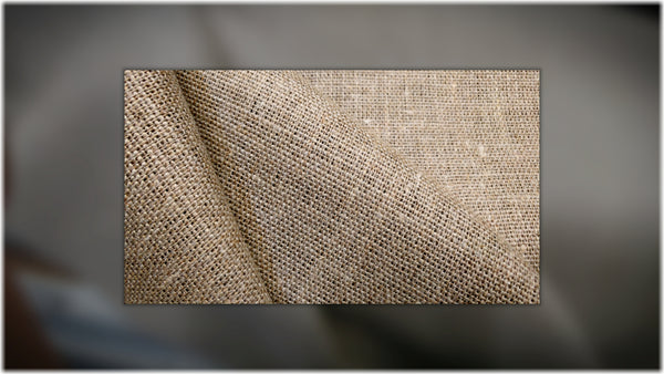 Burlap Natural - 100% linen fabric - irish linen - john hanna limited - bairdmcnutt