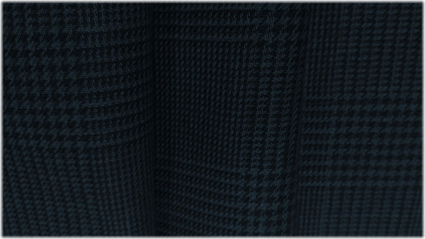 Dunmore Dark Navy Twill - 100% linen fabric - irish linen - john hanna limited - bairdmcnutt