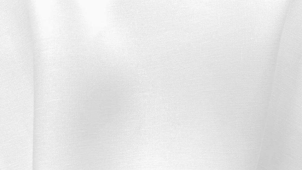 Glenariff - White - 100% linen fabric - irish linen - john hanna limited - bairdmcnutt
