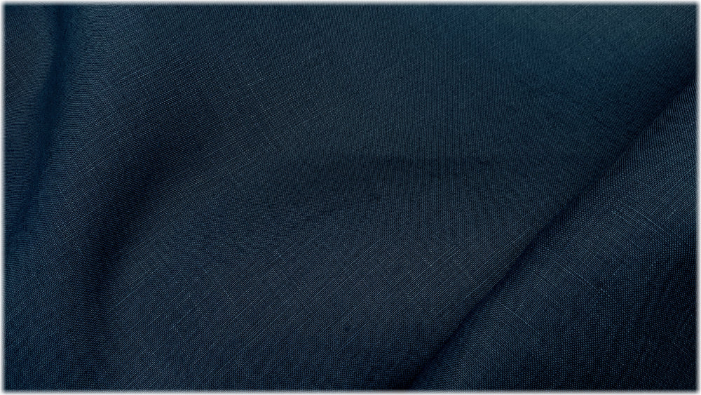 Glenariff - Blueberry - 100% linen fabric - irish linen - john hanna limited - bairdmcnutt
