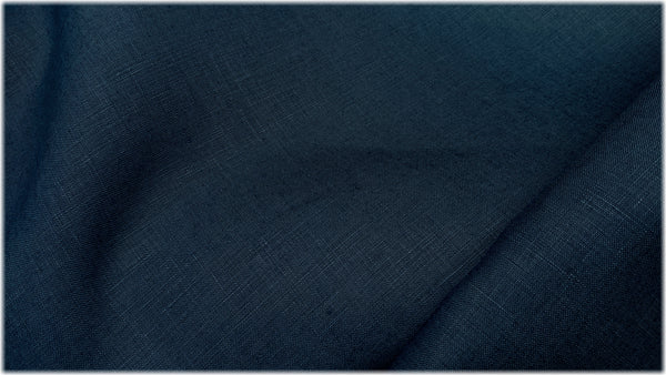 Glenariff Blueberry - 100% linen fabric - irish linen - john hanna limited - bairdmcnutt